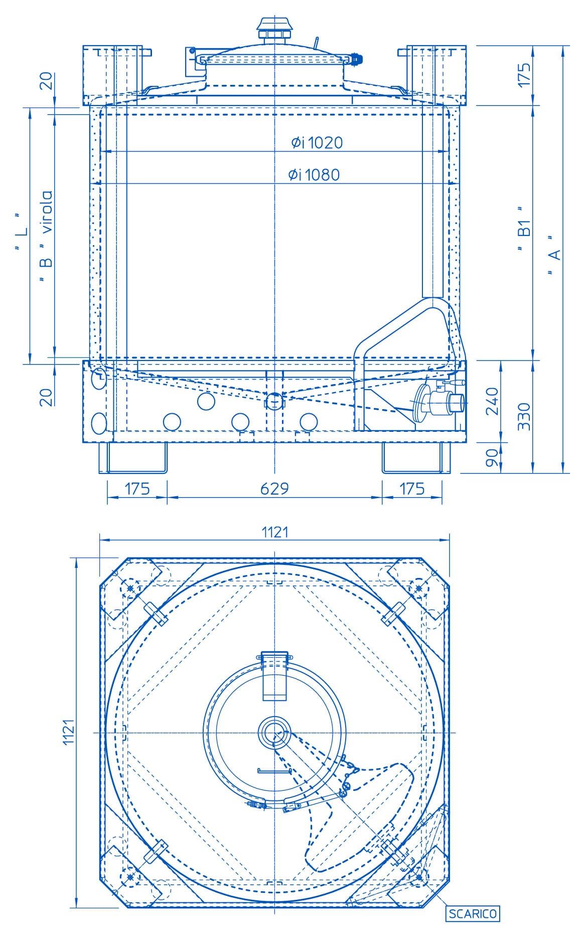 azzini s p a contenitori pallettizzabili formato standard