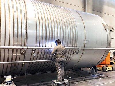 Contenitori industriali con controllo temperatura azzini spa